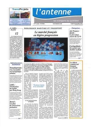 Vu dans l'Antenne du 10 décembre 2012