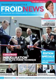 FROID NEWS, nouveau magazine des opérateurs de la chaîne du froid