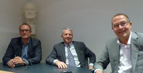 Philippe ANTOINE, J-Eudes TESSON et J-Marc PLATERO