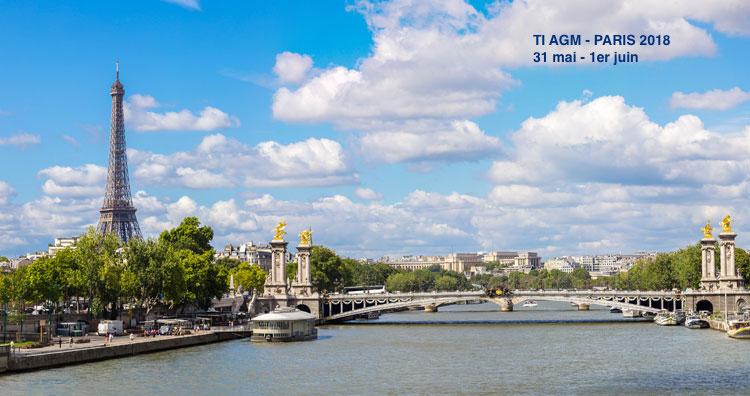 AG TI PARIS 2018 - inscriptions et programme des séances
