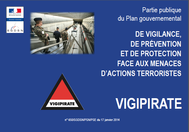 Document d'Information plan Vigipirate
