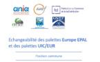Echangeabilité des palettes EPAL et UIC/EUR